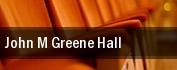 John M. Greene Hall tickets