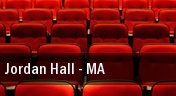 Jordan Hall tickets