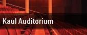 Kaul Auditorium tickets