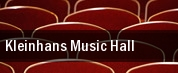 Kleinhans Music Hall tickets