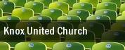 Knox United Church tickets
