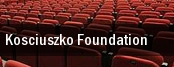 Kosciuszko Foundation tickets