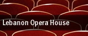 Lebanon Opera House tickets