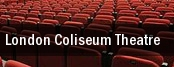 London Coliseum Theatre tickets