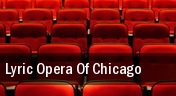 Lyric Opera of Chicago tickets