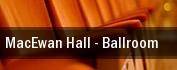 MacEwan Hall tickets