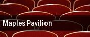Maples Pavilion tickets