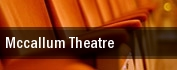 Mccallum Theatre tickets