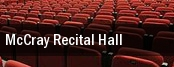 McCray Recital Hall tickets