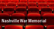 Nashville War Memorial tickets