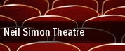 Neil Simon Theatre tickets