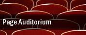 Page Auditorium tickets