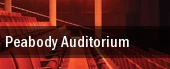 Peabody Auditorium tickets