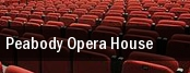 Peabody Opera House tickets