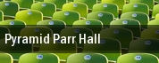 Pyramid & Parr Hall tickets