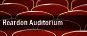 Reardon Auditorium tickets