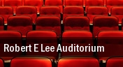 Robert E Lee Auditorium tickets