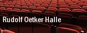 Rudolf Oetker Halle tickets