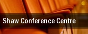 Shaw Conference Centre tickets