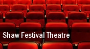 Shaw Festival Theatre tickets