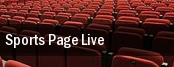 Sports Page Live tickets