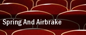 Spring and Airbrake tickets