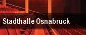 Stadthalle Osnabruck tickets
