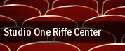 Studio One Riffe Center tickets