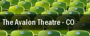 The Avalon Theatre tickets