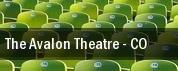 The Avalon Theatre tickets