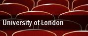 University of London tickets