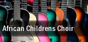 African Children's Choir Van Duzer Theatre tickets
