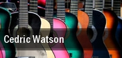 Cedric Watson tickets