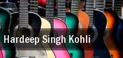 Hardeep Singh Kohli tickets