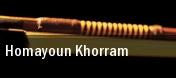Homayoun Khorram tickets