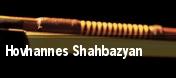 Hovhannes Shahbazyan tickets