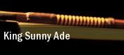 King Sunny Ade Boulder tickets