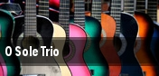 O Sole Trio tickets