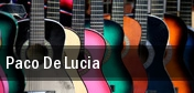 Paco De Lucia Boston tickets