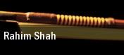 Rahim Shah tickets