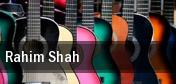 Rahim Shah Terrace Theater tickets