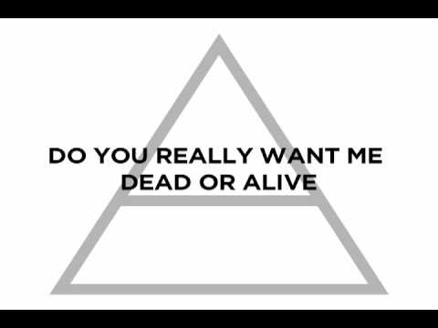 "Thirty Seconds to Mars - ""Hurricane"" Lyrics"
