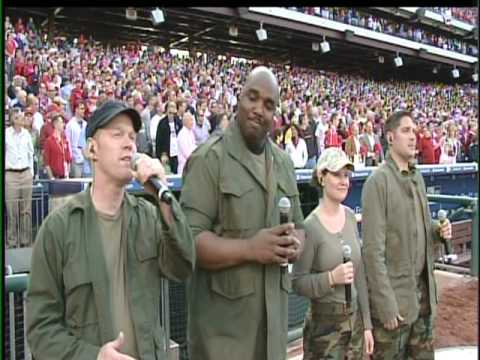 "2010 Philadelphia Phillies Opening Day ""God Bless America"""