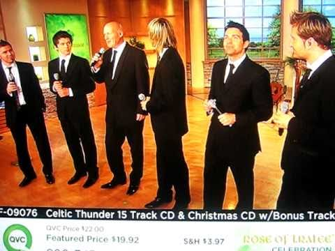 "Celtic Thunder Performs on QVC Rose of Tralee - ""We Wish You A Merry Christmas"" - Teaser"
