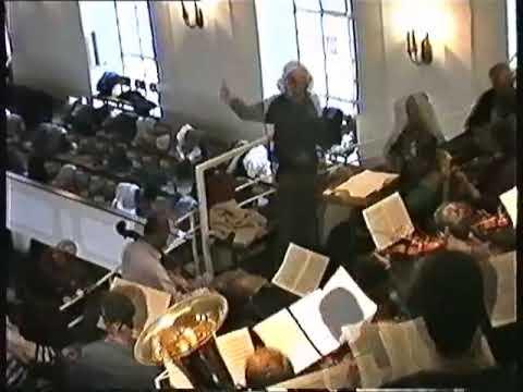 J. Brahms: Probe Rehearsal 1 - Ein deutsches Requiem Wupperfeld Winfried Pesch