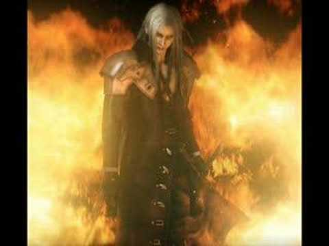 Sephiroth/one winged angel theme song