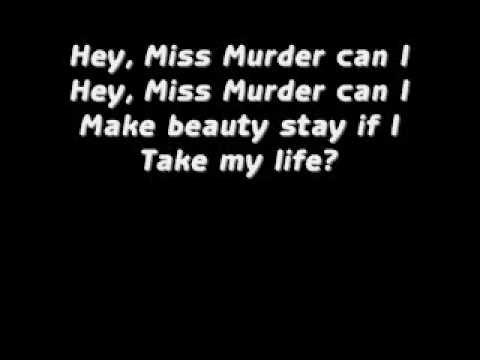 AFI - Miss Murder/Lyrics