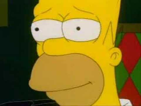 Homer Simpson - Afroman - Because I Got High