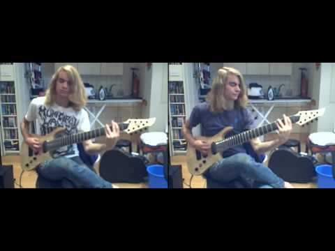 "8-string Cover of ""Aspiration"" by After The Burial - Fred Baty"