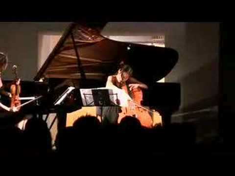 Ahn Trio plays Primavera Portena at Istanbul Modern